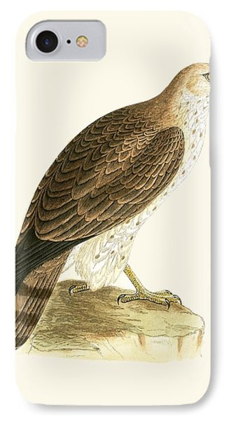 Short Toed Eagle IPhone 7 Case by English School