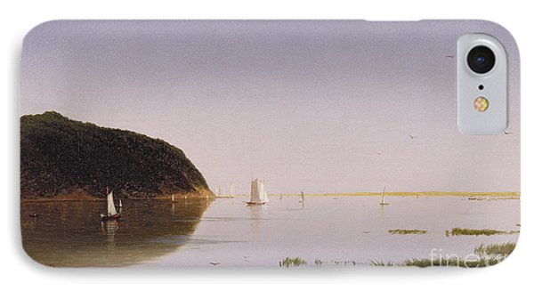Shrewsbury River - New Jersey IPhone Case by John Frederick Kensett