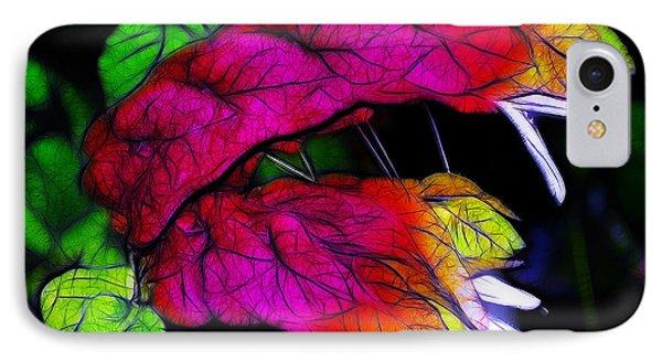 Shrimp Plant Phone Case by Judi Bagwell