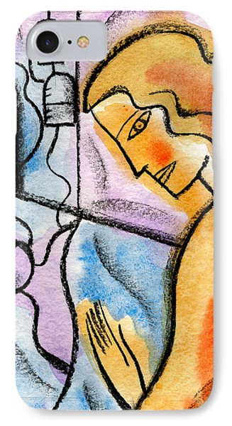 Sickness And Healing IPhone Case by Leon Zernitsky