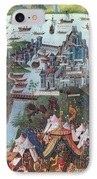 Siege Of Constantinople, 1453 Phone Case by Photo Researchers