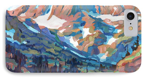 Sierra Nevada Silence IPhone Case by David Lloyd Glover