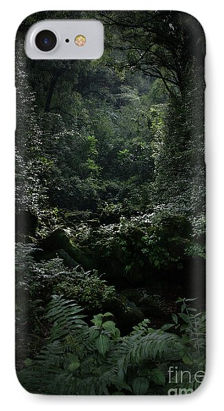 Silence Is Round Me   - Mokulehua Phone Case by Sharon Mau