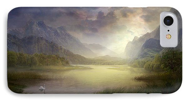 Silent Morning IPhone Case by Philip Straub