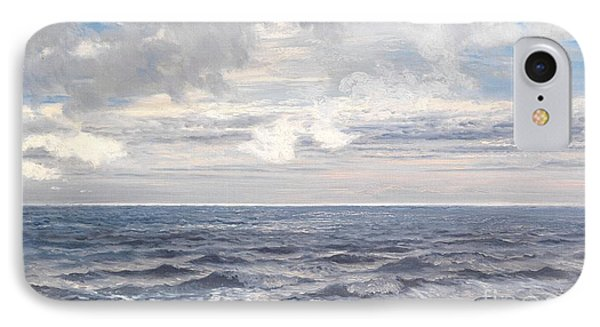 Silver Sea IPhone Case by Henry Moore