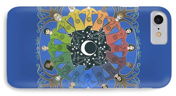 Sister Circle Phone Case by Karen MacKenzie