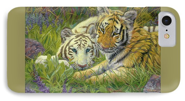 Sisters IPhone 7 Case by Lucie Bilodeau