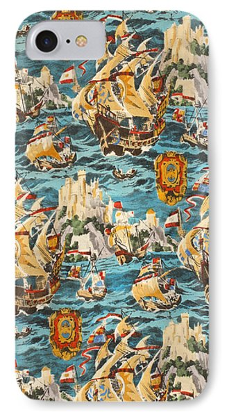 Sixteenth Century Ships IPhone Case by Harry Wearne