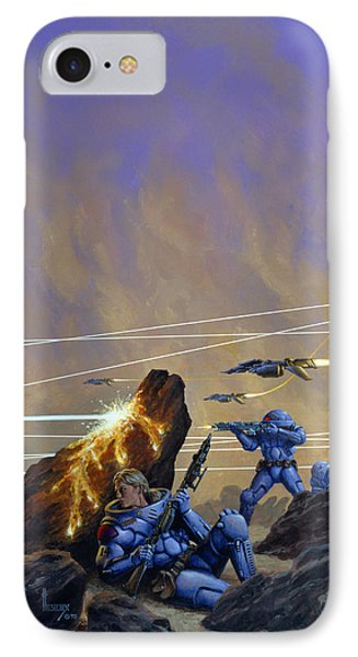 Skirmishers  IPhone Case by Richard Hescox