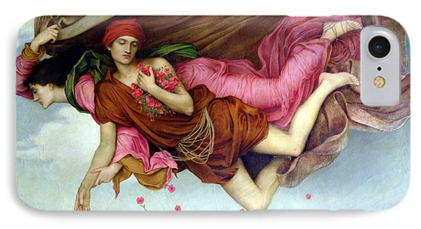 Sleep And Night IPhone Case by Evelyn de Morgan