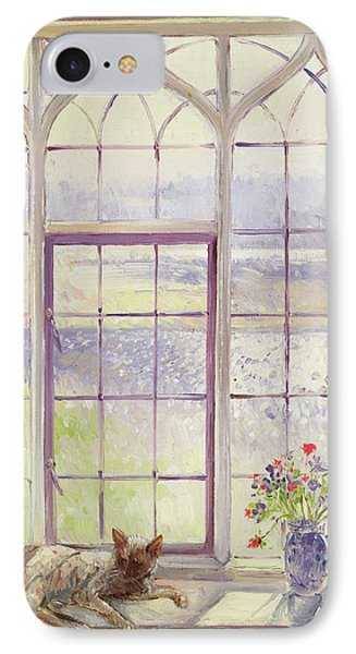 Sleeper With Anemones IPhone Case by Timothy Easton