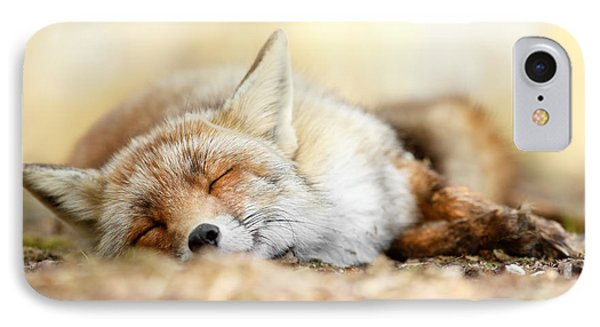 Sleeping Beauty -red Fox In Rest IPhone 7 Case by Roeselien Raimond