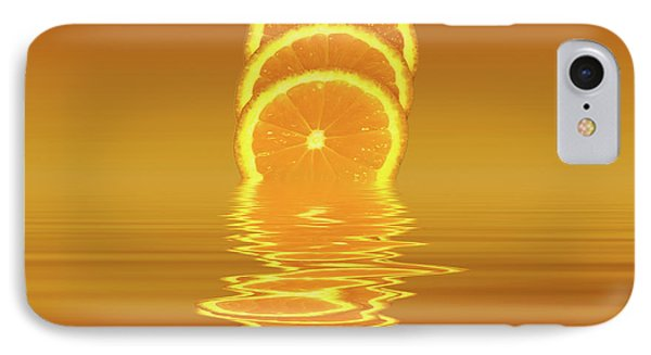 Slices Orange Citrus Fruit IPhone Case by David French