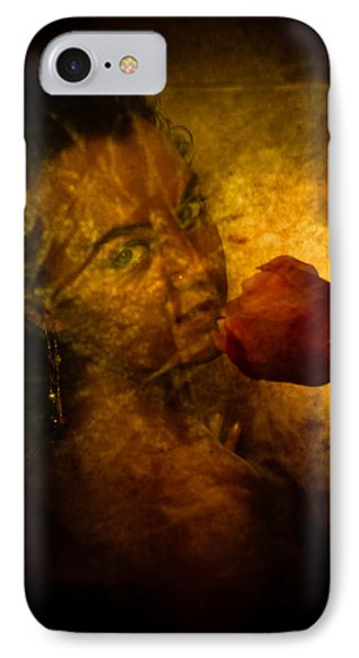 Smelling The Flowers Phone Case by Scott Sawyer