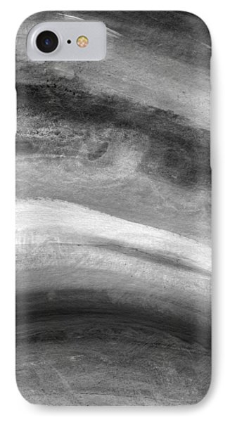 Smoke- Abstract Art By Linda Woods IPhone Case by Linda Woods