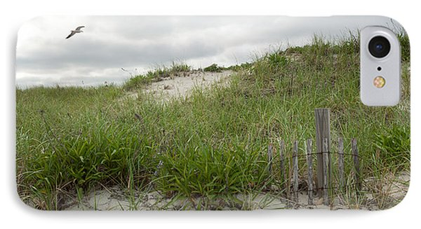 Smugglers Beach Dune South Yarmouth Cape Cod Massachusetts IPhone Case by Michelle Wiarda