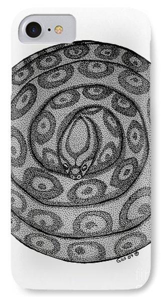 Snake Ball Phone Case by Nick Gustafson