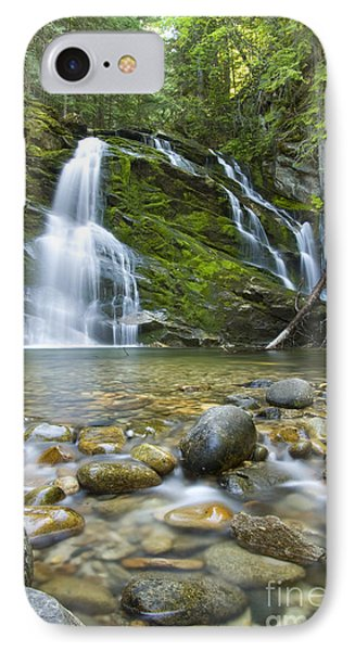 Snow Creek Falls Phone Case by Idaho Scenic Images Linda Lantzy