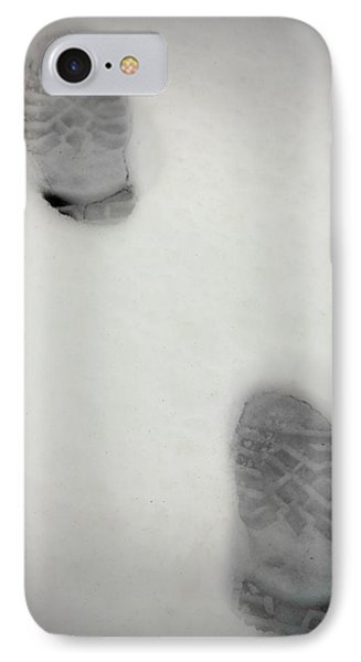 Snow Footprints IPhone Case by Boyan Dimitrov