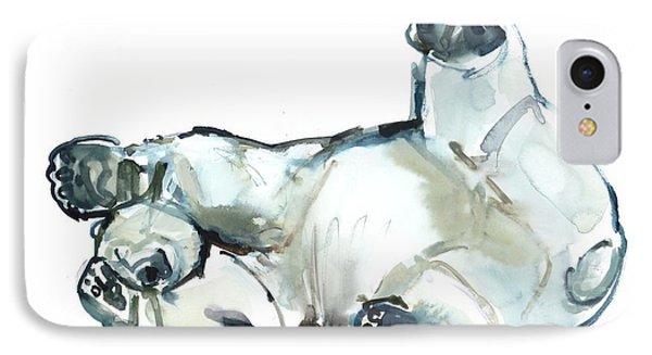 Snow Rub IPhone 7 Case by Mark Adlington