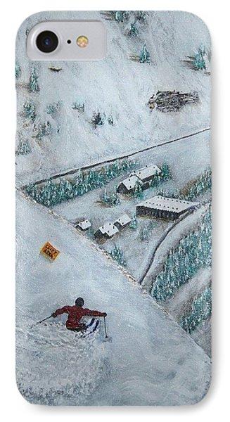 Snowbird Steeps Phone Case by Michael Cuozzo