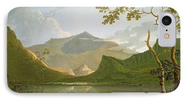 Snowdon IPhone Case by Richard Wilson