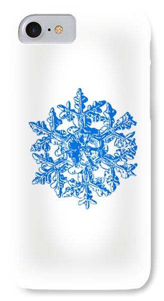 Snowflake Vector - Gardener's Dream White Version Phone Case by Alexey Kljatov