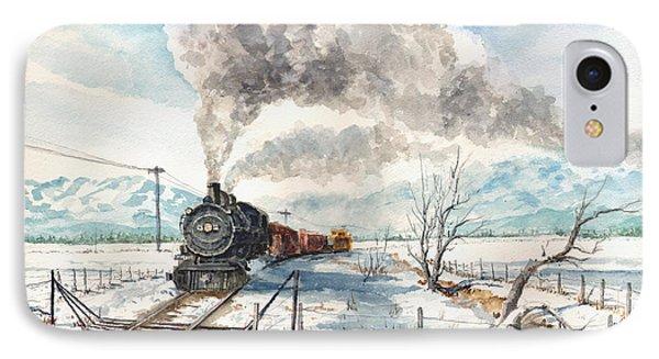 Snowy Crossing IPhone Case by Sam Sidders