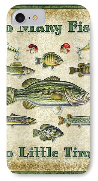 So Many Fish Sign IPhone Case by JQ Licensing