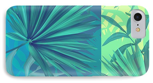 Soft Tropic  IPhone Case by Mark Ashkenazi