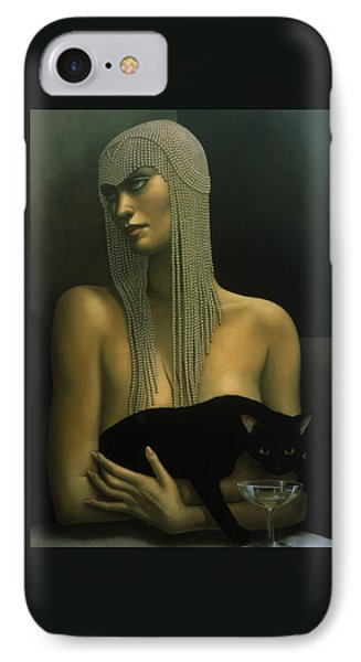 Solitare IPhone Case by Jane Whiting Chrzanoska