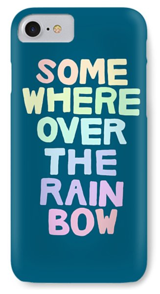Somewhere Over The Rainbow IPhone 7 Case by Priscilla Wolfe