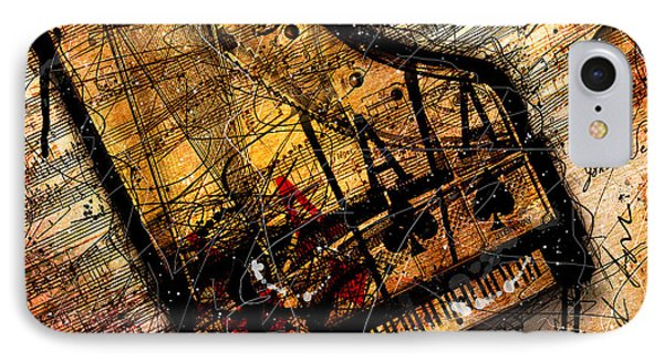 Sonata In Ace Minor IPhone Case by Gary Bodnar