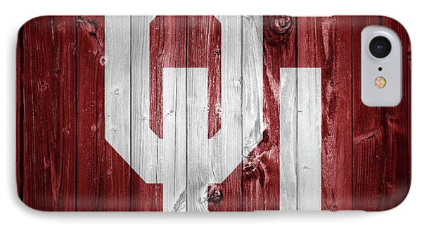 Sooners Barn Door IPhone 7 Case by Dan Sproul