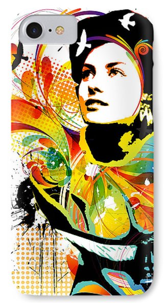 Soul Explosion I Phone Case by Chris Andruskiewicz