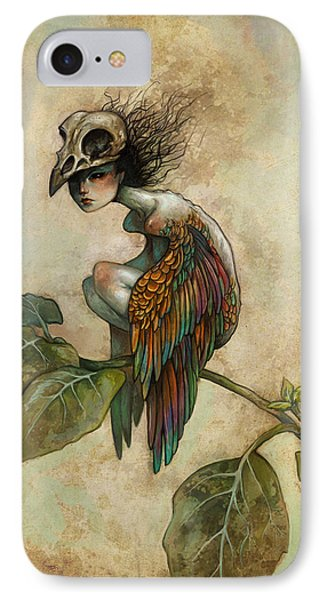 Soul Of A Bird IPhone 7 Case by Caroline Jamhour