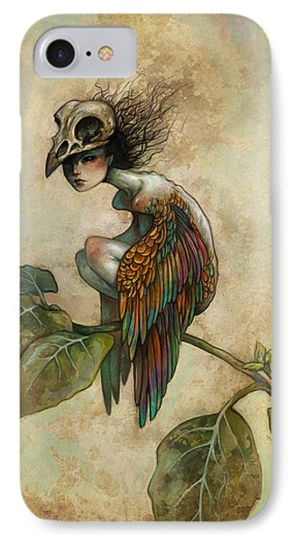 Soul Of A Bird IPhone Case by Caroline Jamhour
