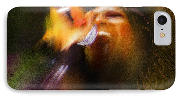 Soul Scream IPhone 7 Case by Miki De Goodaboom