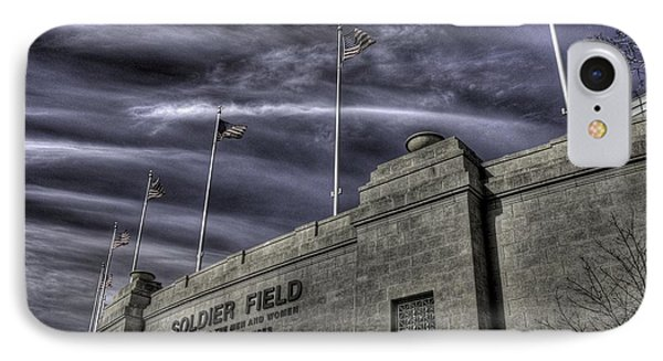 South End Soldier Field IPhone Case by David Bearden