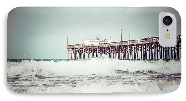 Southern California Pier Vintage 1950s Picture IPhone Case by Paul Velgos