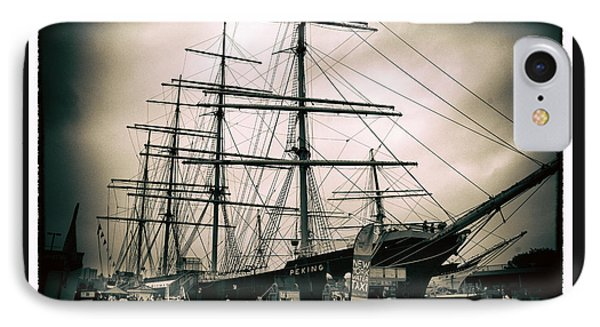 South Street Seaport IPhone Case by Jessica Jenney