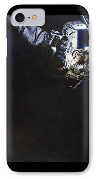 Spacewalk 1  IPhone 7 Case by Simon Kregar