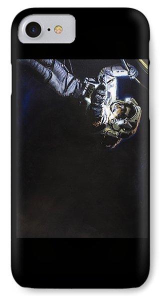 Spacewalk 1  IPhone Case by Simon Kregar