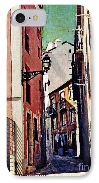 Spanish Town Phone Case by Sarah Loft