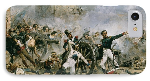 Spanish Uprising Against Napoleon In Spain Phone Case by Joaquin Sorolla y Bastida