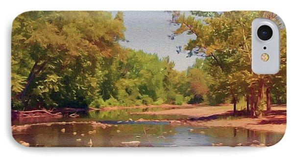 Spavinaw Creek Phone Case by Jeff Kolker