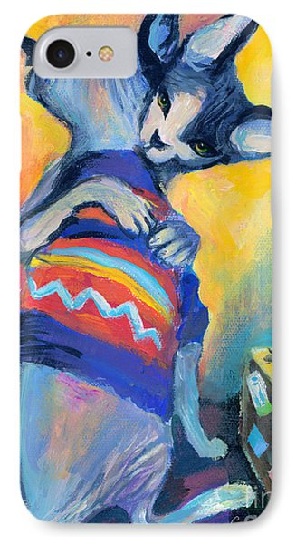 Sphynx Cats Friends Phone Case by Svetlana Novikova