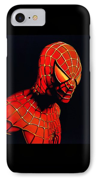 Spiderman Phone Case by Paul Meijering