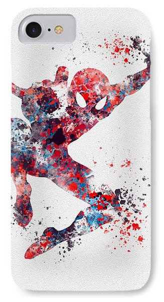 Spidey IPhone Case by Rebecca Jenkins