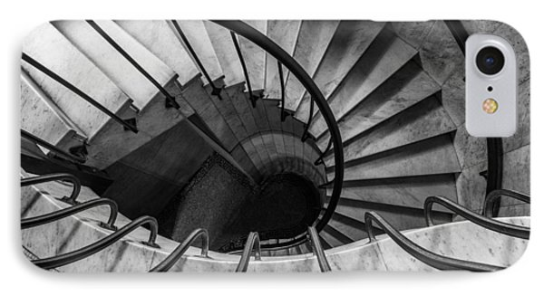 Spiral Staircase IPhone Case by Dale Kincaid